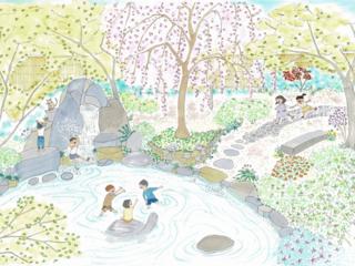 京都市上京区のお寺に子どもたちと作る「200年後の名勝」