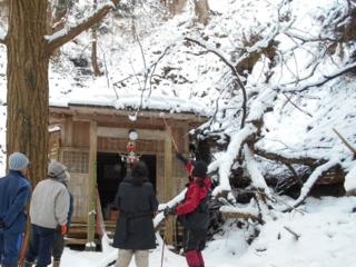 豪雨で被害を受けた五城目の森山不動堂の復旧にご協力を!