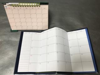 折り畳める薄型手帳&オ-ルインワン手帳