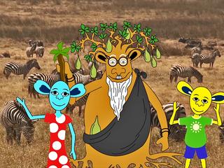 野生の王国で、子供自然TV番組を制作し、放送したい!第一弾