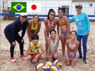 ビーチバレーでつながるブラジル&日本、日系社会!