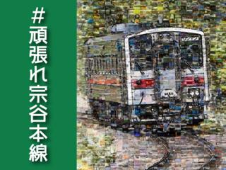 #頑張れ宗谷本線!手ぬぐいを振って観光列車を皆で歓迎したい