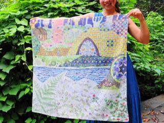 世界一楽しい南伊豆の自然が生んだ原画スカーフ