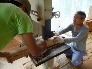 いわきに若者が森で活動する機会を増やすための木工センターを!