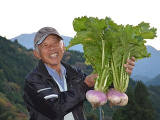 伝統野菜田村カブの継承のため、有名シェフに講演してもらいたい