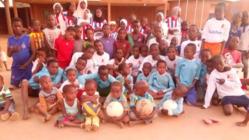 ニジェールの子供たちに、スポーツと希望を届けたい!