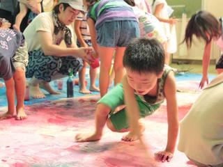 自然豊かな旧校舎を子供達の自由な芸術表現の場として復活したい