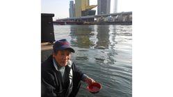 絶滅してしまった隅田川の白魚を復活させるため、放流会を開催!