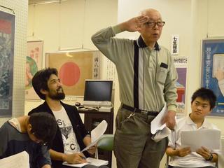 静岡の戦争の記憶を次世代に伝えたい!大空襲体験の脚本化!