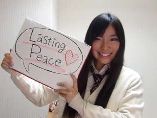 世界中の10代が持つ平和への想いをフェアトレードシャツに!