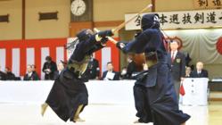 著名な剣士が集う舞台「全日本選抜剣道七段選手権大会」の継続を
