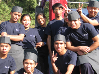 ネパールで和食料理教室を開設し、生活困難な料理人の技能向上を