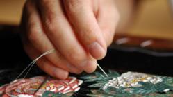 日本の伝統文化「日本刺繍」を世界へ。繍道NUIDO世界展を開催!