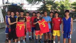 未来のベトナムバスケ界を牽引する!ベトナムの少年が日本遠征へ