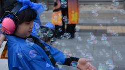 自閉症等啓発イベント「ライト・イット・アップ・ブルー東村山」