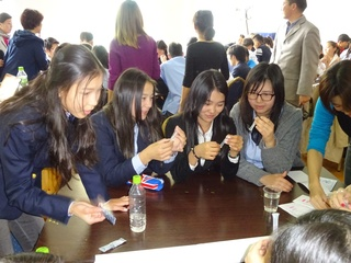 モンゴルの子供達に理科の実験を通して環境問題を伝えたい!