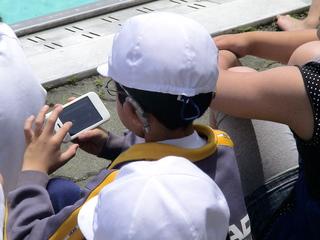 聴覚障害児がタブレットで簡単に操作可能な文字通訳アプリを開発
