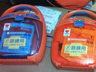 応急手当普及活動講習会にて使用する機材を購入したい!