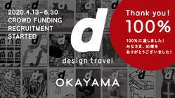 皆の応援資金で『d design travel』を作り続けたい vol.28岡山号