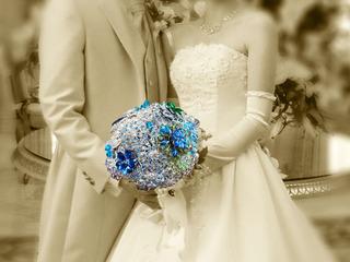 東北で被災した花嫁さんにブローチブーケを届けたい!