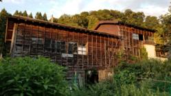 古い納屋をオーガニック農業の為のアースシップ温室に改装したい