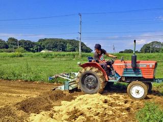トラクターを購入して、障害者の働く農場を作りたい。
