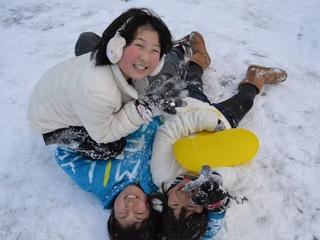 いっぱい遊ぼう!福島っ子ウィンターキャンプ