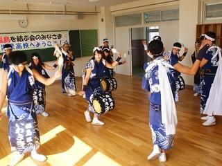 郷土芸能「いわき じゃんがら念仏踊り」を夏に広島に呼ぼう!