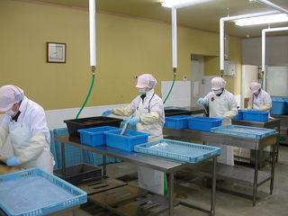 岩手野田村の被災地企業に水産加工のための新たな設備を導入!