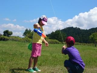 福島の親子を高知に招き、自然の中でのびのび遊ばせたい!