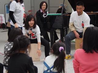 6月に福島県の幼稚園で親子で打楽器を作り、音学会を開きたい!