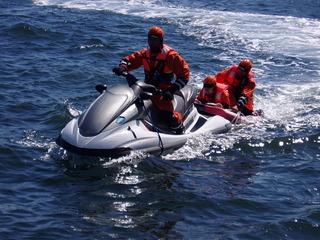 マリンスポーツで知られる水上オートバイを、レスキュー器材として活用したい~K38JAPAN~