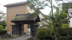 黒羽小学校のシンボル「侍門」を地元大工さんに修復させて!