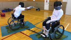 車いすフェンシングの可能性を広げるため、練習環境を整備したい