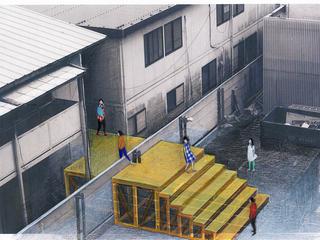 隣り合う武蔵野美術大学と朝鮮大学校の壁を越える橋を架けたい
