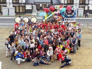 宮城県東松島市で青森ねぶた祭りを開催し、絆づくりの応援をしたい!