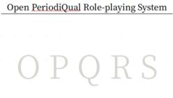"""同人TRPG """"OPQRS"""" 制作プロジェクト"""