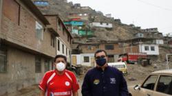 コロナ禍、貧困に苦しむペルーの方々への緊急食糧支援