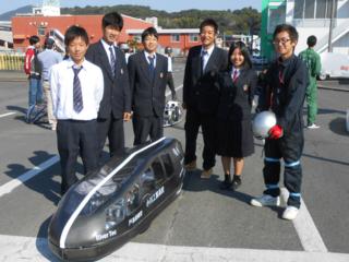 エコ電気自動車のレース!生徒たちを全国大会に連れていきたい!