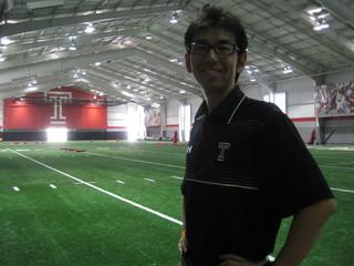 10年越しの夢を実現させるために NFLのトレーナーを目指して