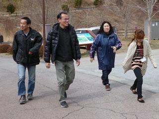 陸前高田の仮設住宅に住む方々に、ウォーキングを通して健康を維持してもらう!