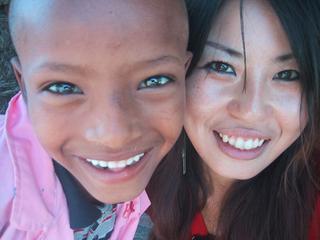 元、ガングロギャル。今、アフリカでボランティア奮闘中。そんなプラ子ちゃんを応援!