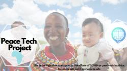 コロナ禍のアフリカ支援基金:Peace Tech Project