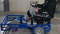電動車椅子サッカーを快適に出来るようになるための必要なパーツ