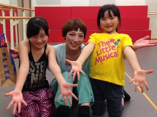 8月に東京で子ども達の個性をいかしたミュージカルを公演したい