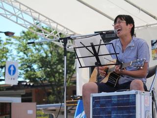 福島の空の下で太陽光発電を利用した音楽イベントを開催したい!