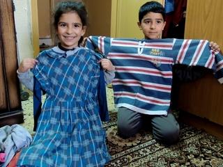 石巻に緊急支援として集まった服をシリア難民に届ける  ~絆ぐるぐるプロジェクト~