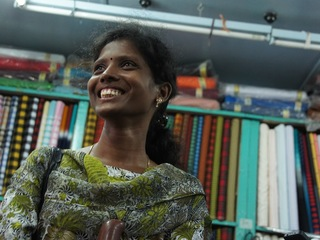 スリランカの女性達に刺繍技術を伝え、現地に仕事を生み出したい