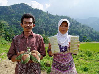 熱帯雨林の恵みで村おこし ヤシ砂糖を使った生姜湯を作ろう!