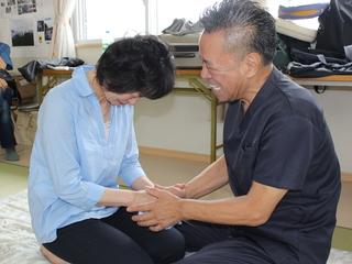 岩手県の仮設住宅に住む方々の疲労を少しでも癒していきたい!